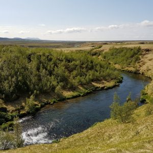 River in the beautiful nature of Iceland